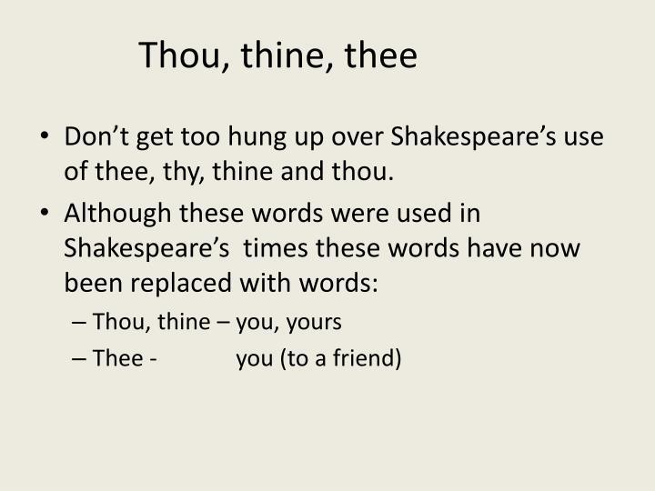 Thou,