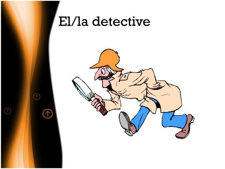 El/la