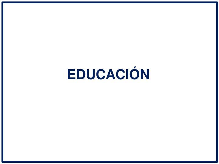 EDUCACIN