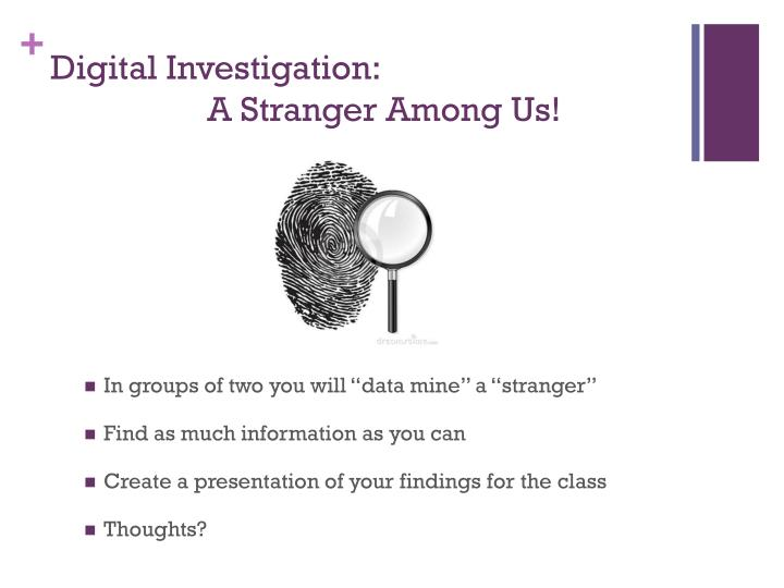 Digital Investigation:
