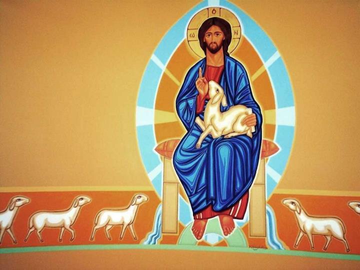 Celebramos hoy el Domingo del                       BUEN PASTOR.