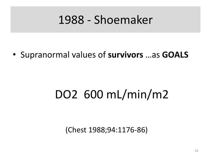1988 - Shoemaker