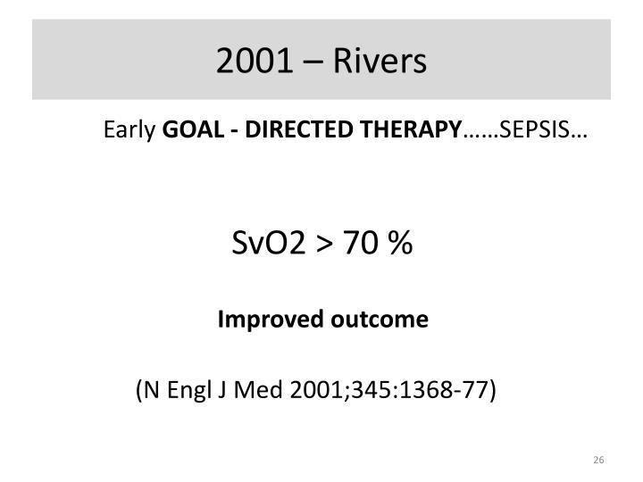 2001 – Rivers