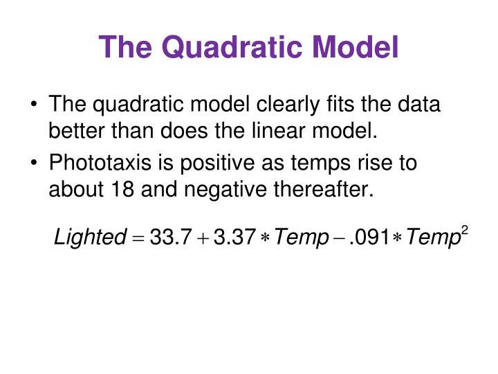 The Quadratic Model