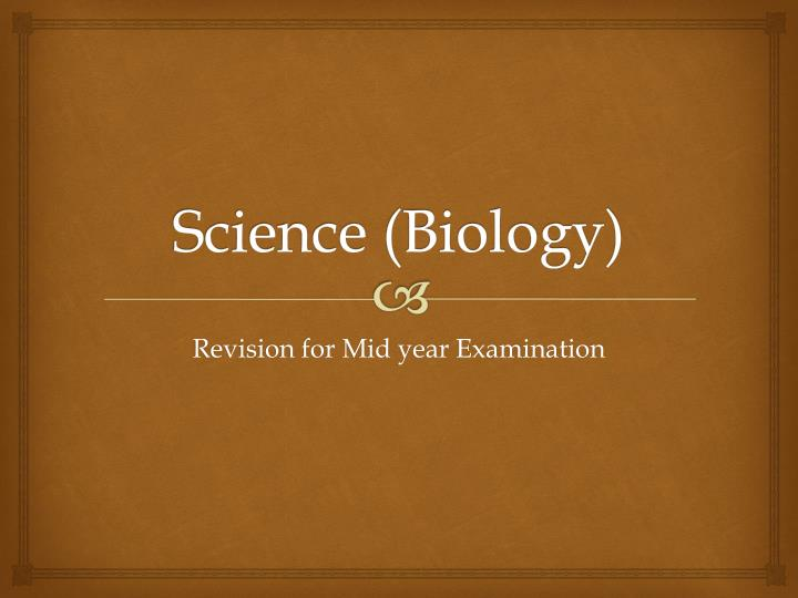 Science biology