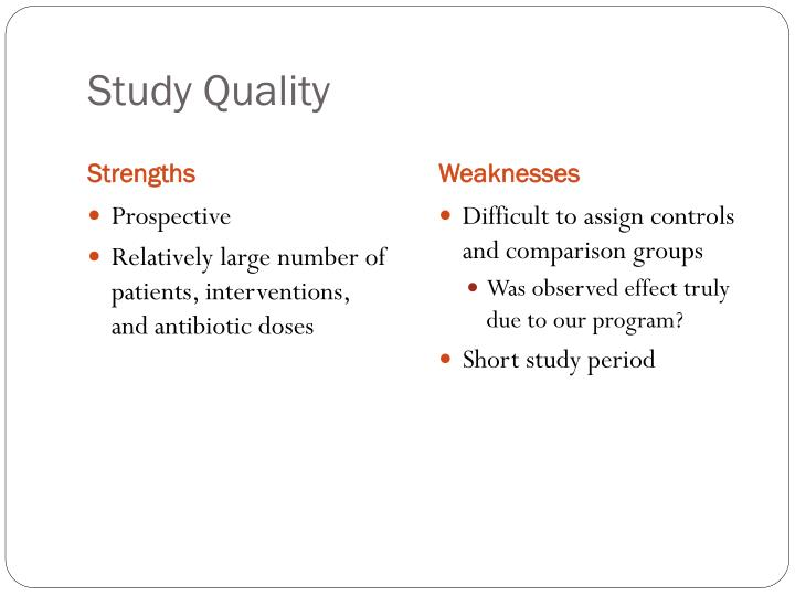 Study Quality