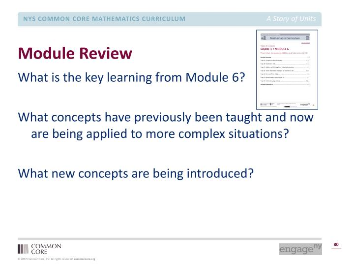 Module Review