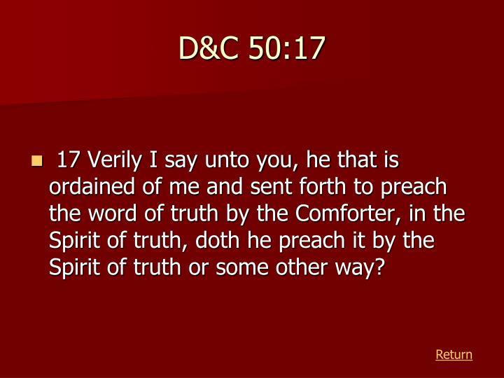 D&C 50:17