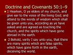 doctrine and covenants 50 1 9