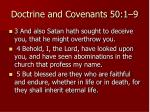 doctrine and covenants 50 1 91