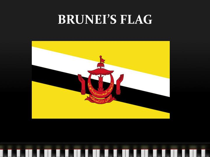 BRUNEI'S FLAG