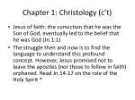 chapter 1 christology c t