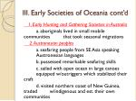 iii early societies of oceania cont d