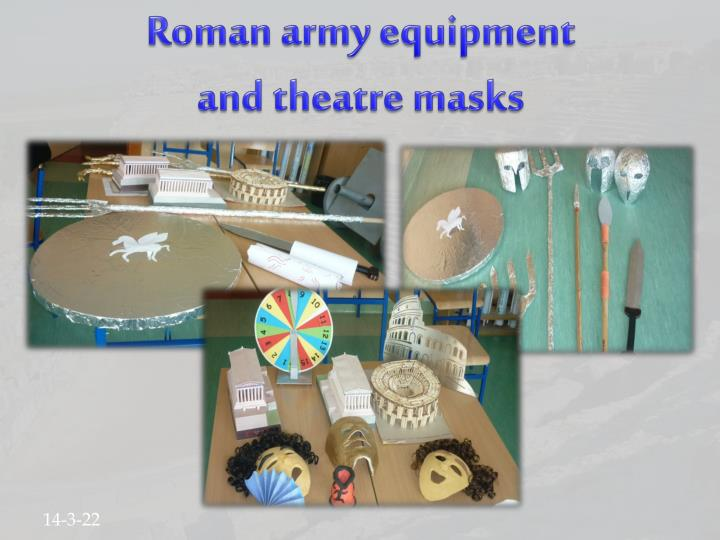 Roman army equipment