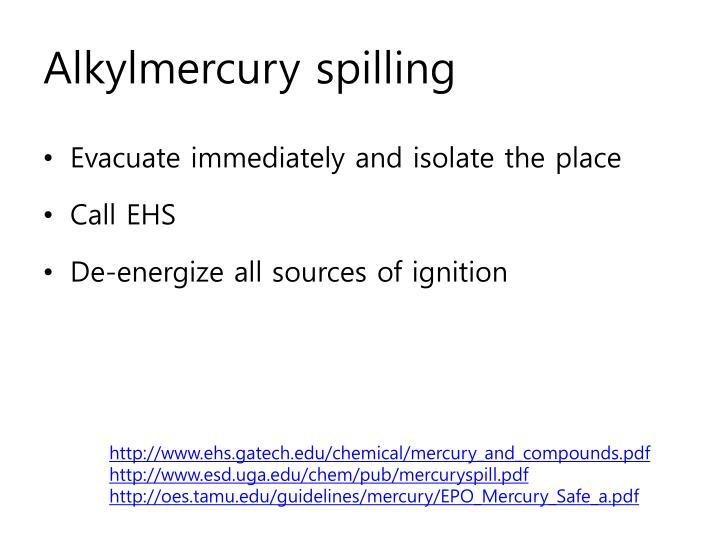 Alkylmercury