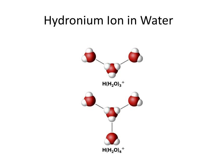 Hydronium Ion in Water