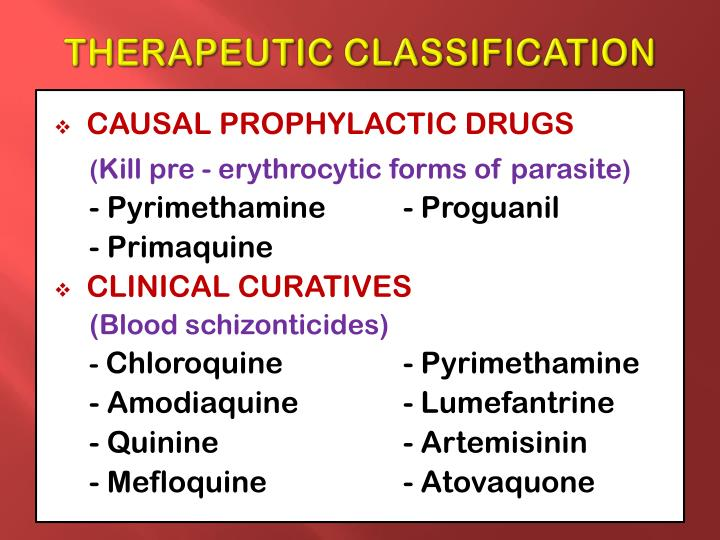 what is therapeutic classification of drugs