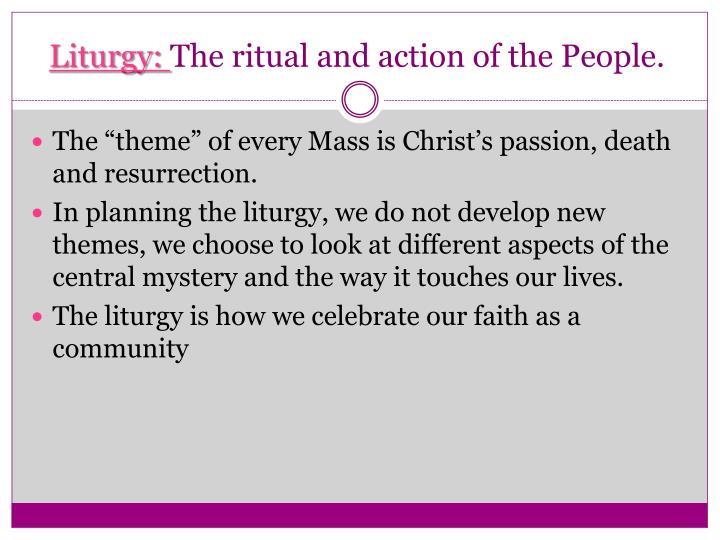 Liturgy: