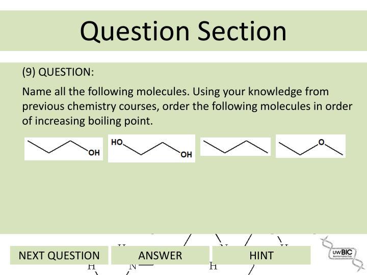 (9) QUESTION: