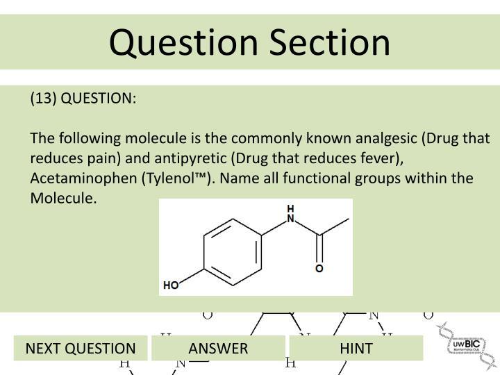 (13) QUESTION: