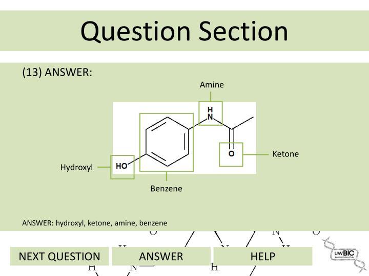 (13) ANSWER: