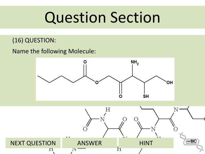 (16) QUESTION: