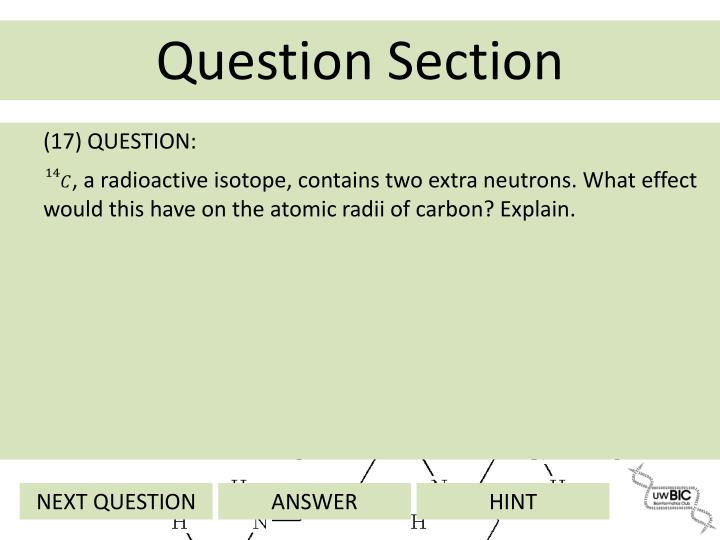 (17) QUESTION: