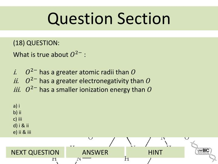 (18) QUESTION: