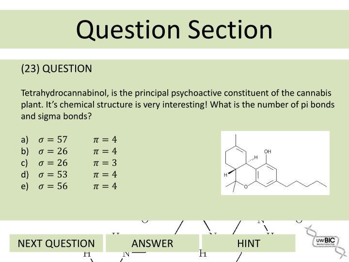 (23) QUESTION