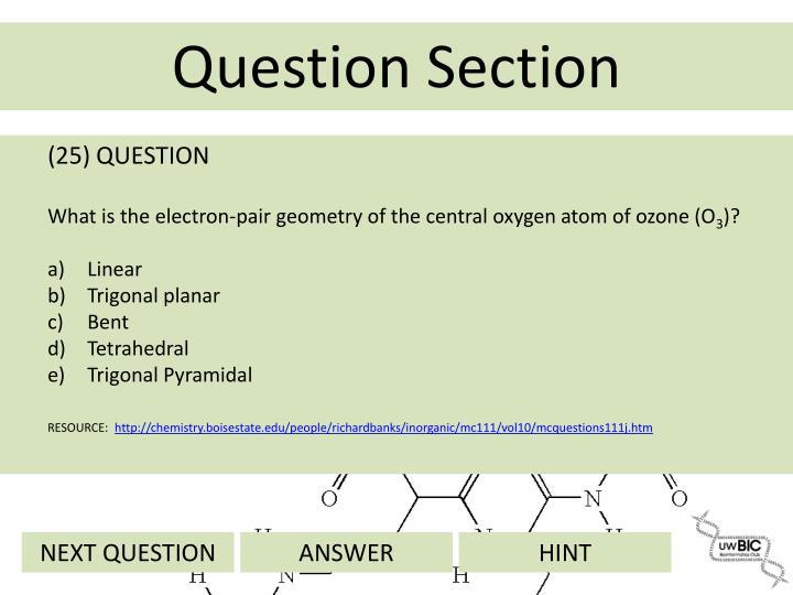 (25) QUESTION