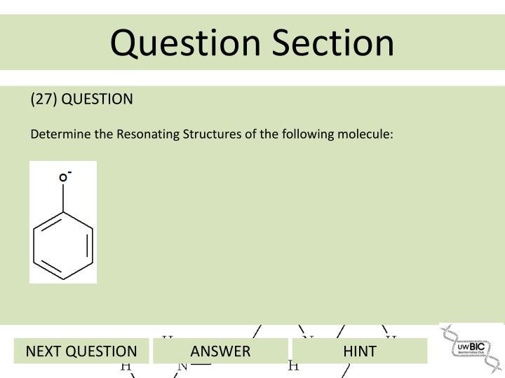 (27) QUESTION