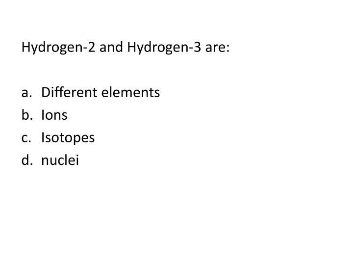 Hydrogen-2