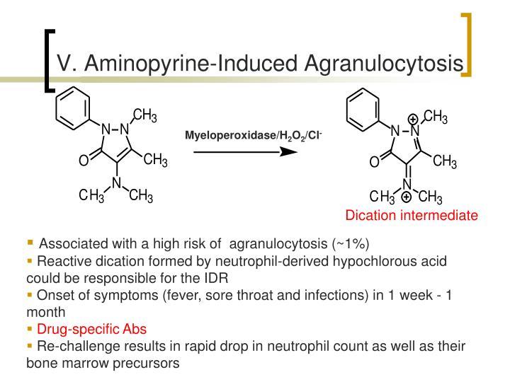 V. Aminopyrine-Induced Agranulocytosis