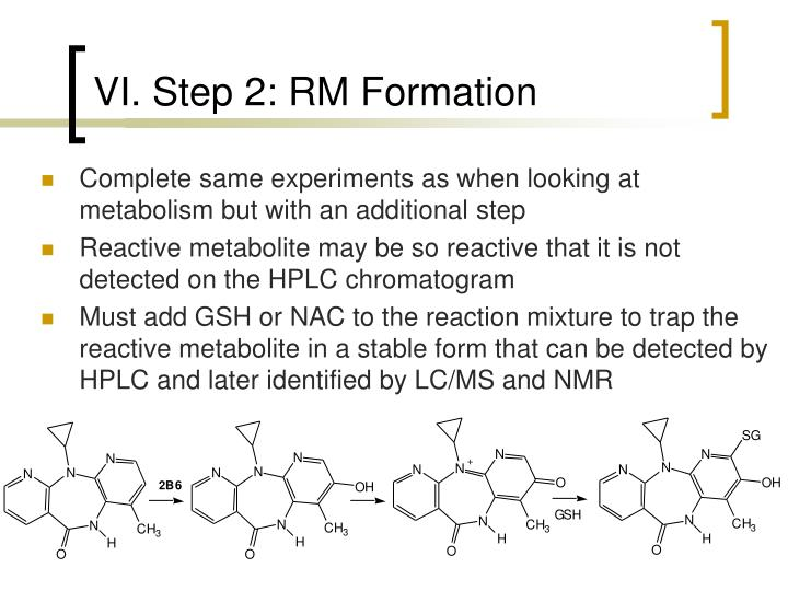 VI. Step 2: RM Formation