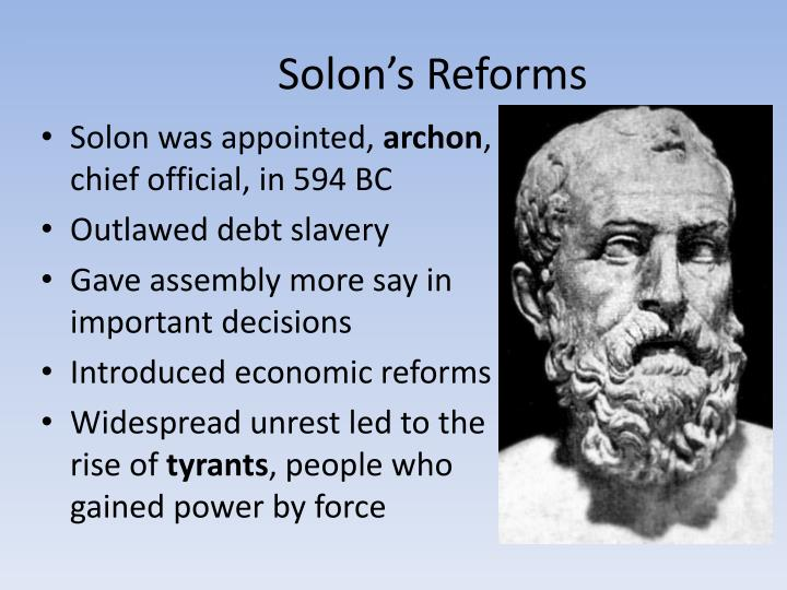 Solon's Reforms