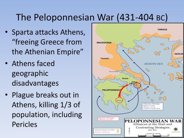 The Peloponnesian War (431-404