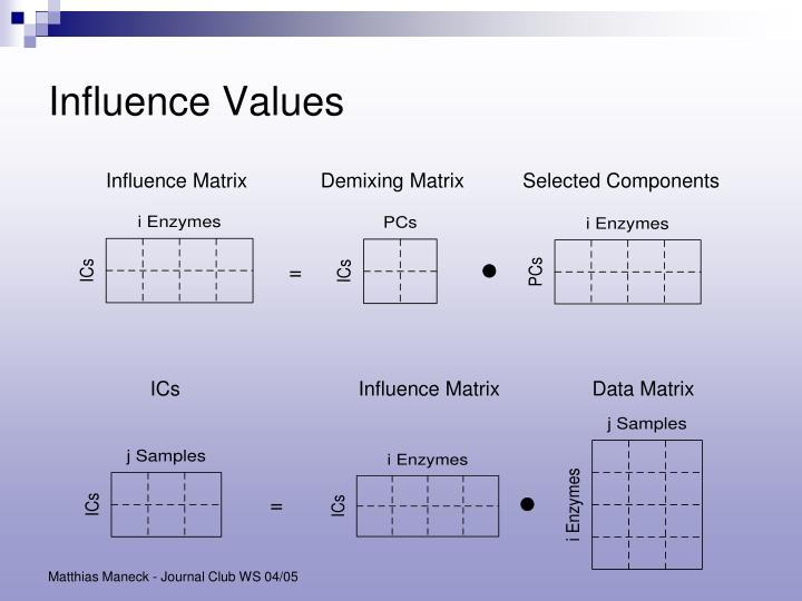 Influence Values