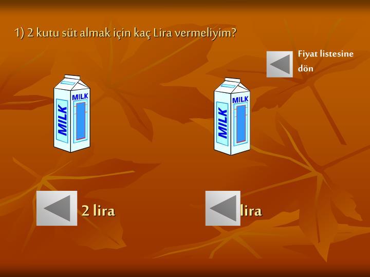 2 lira