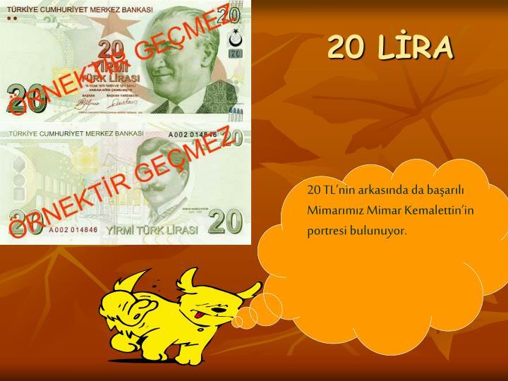 20 LİRA