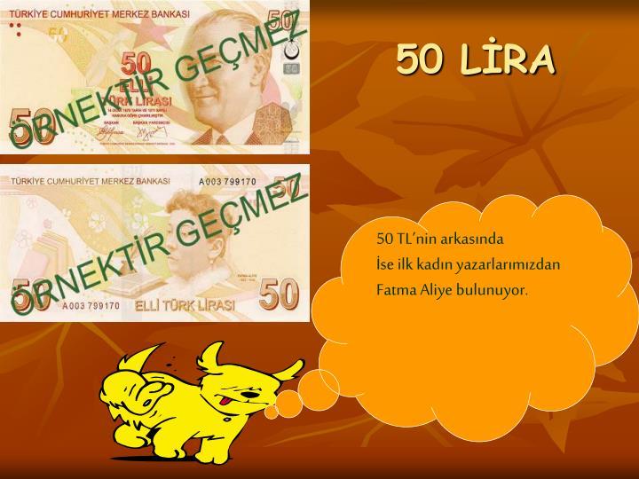 50 LİRA