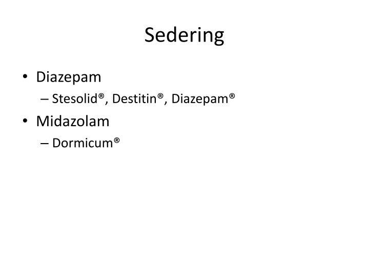 Sedering