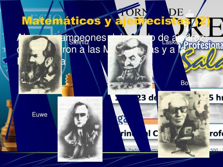 Matemáticos y ajedrecistas (2)