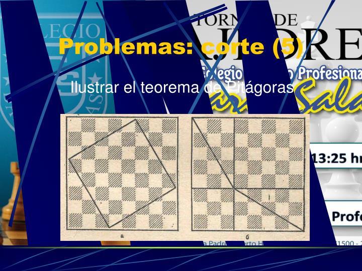 Problemas: corte (5)
