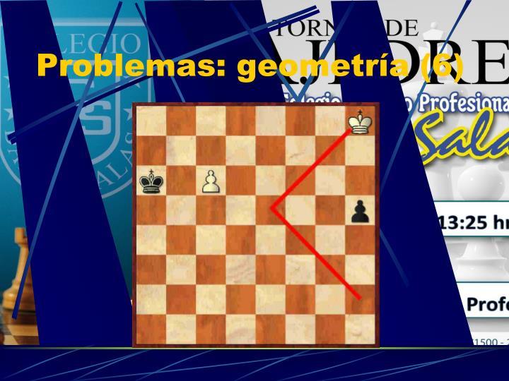 Problemas: geometría (6)