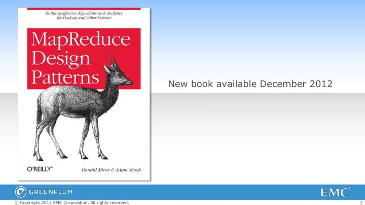 New book available December 2012