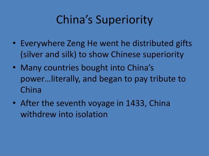 China's Superiority