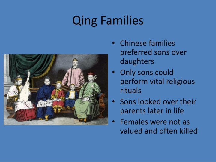 Qing Families