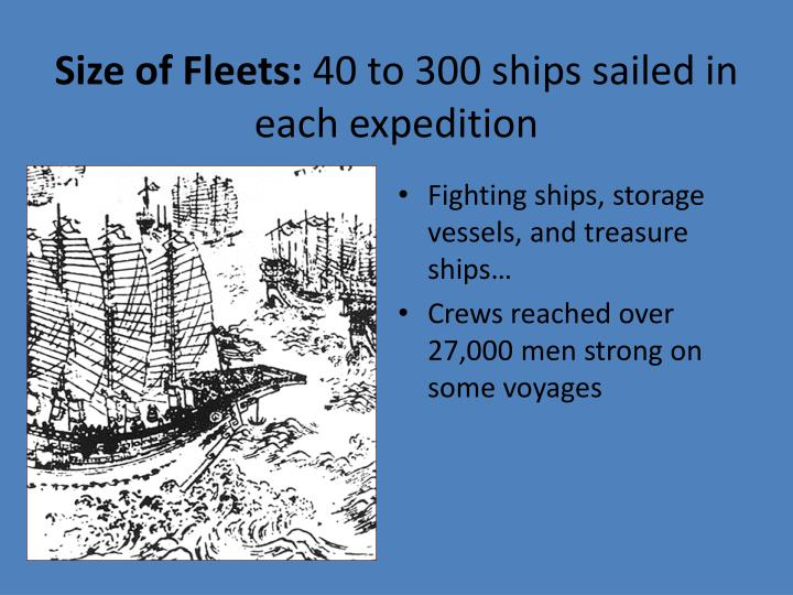 Size of Fleets: