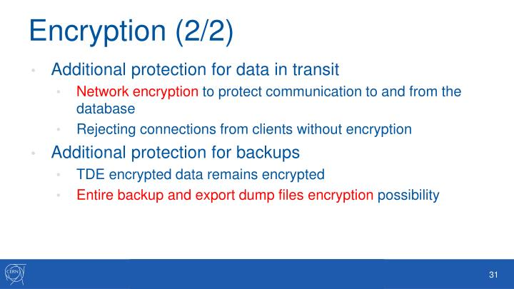 Encryption (2/2)