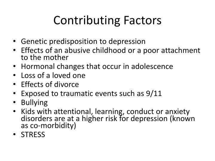 Contributing Factors
